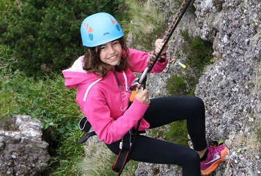 Abseiling outdoor activity