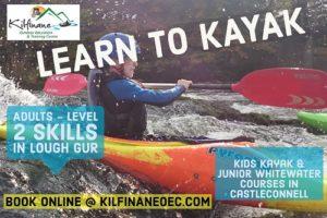 Kayak courses